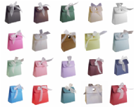 Box Bag Wedding Favour Boxes - Different Colours - SC12